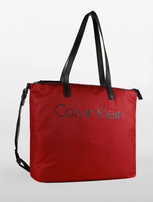 CALVIN KLEIN CHASED SMALL TOTE