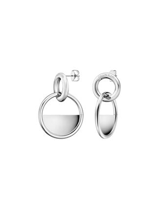 CALVIN KLEIN CALVIN KLEIN LOCKED EARRINGS