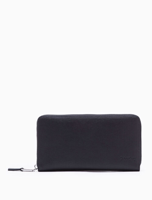 CALVIN KLEIN LONG TRAVEL ZIP WALLET