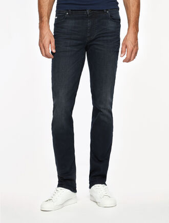 CALVIN KLEIN ICONIC BLUE BLACK WASH BODY2 JEANS
