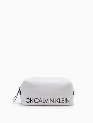 CALVIN KLEIN MEDIUM LOGO DOPP KIT
