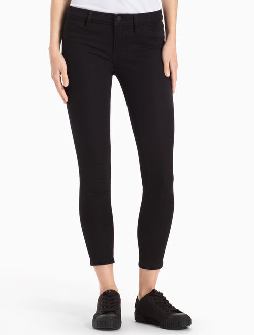 CALVIN KLEIN CROPPED SKINNY JEANS