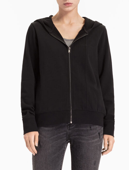 CALVIN KLEIN A-HETON ZIP UP HOODI