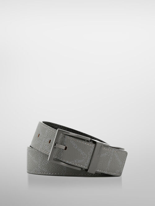 CALVIN KLEIN PIN BUCKLE REVERSIBLE LEATHER BELT