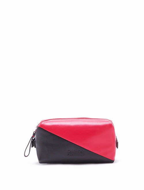 CALVIN KLEIN 2-TONED SMALL DOPP KIT