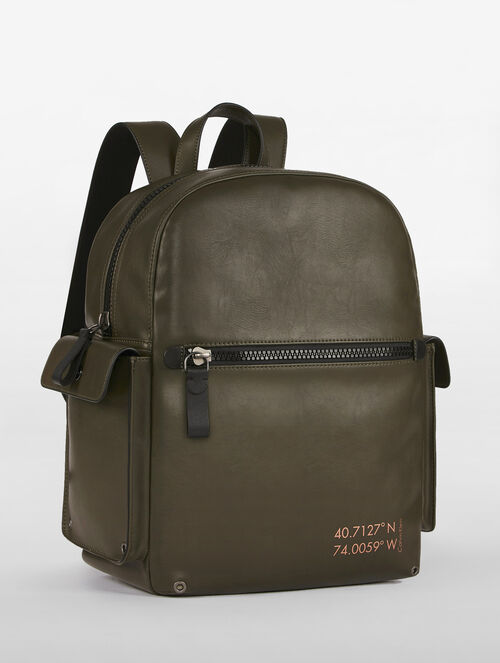 CALVIN KLEIN SURPLUS PU CAMPUS BACKPACK