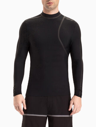 CALVIN KLEIN CUTTING EDGE RASH GUARD