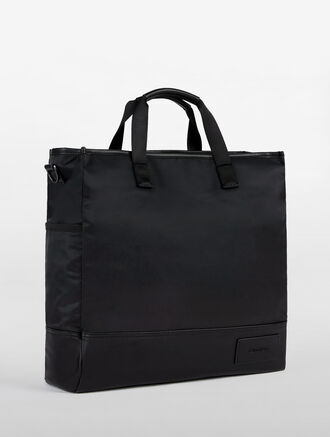 CALVIN KLEIN URBAN EASE NYLON TOTE NEW SHA