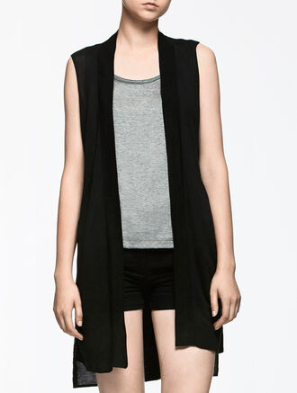 CALVIN KLEIN LONG CARDIGAN