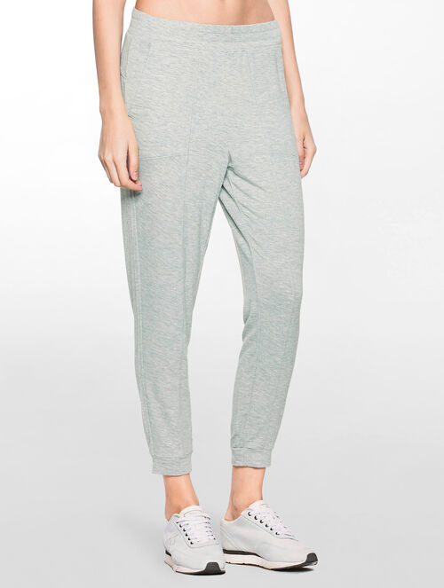 CALVIN KLEIN LIGHTWEIGHT CROPPED PANTS