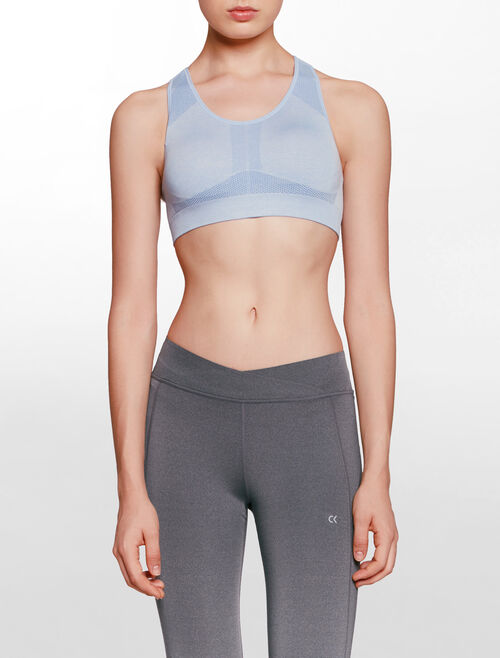 CALVIN KLEIN SEAMLESS BRA WITH  REMOVABLE CUP