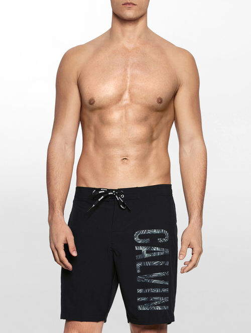 CALVIN KLEIN INTENSE POWER PLUS PRINTED LOGO BOARD SHORTS