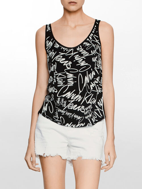 CALVIN KLEIN WENDA SLEEVELESS TOP