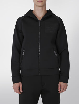 CALVIN KLEIN LIMITED BLACK SERIES ZIPFRONT HOOD