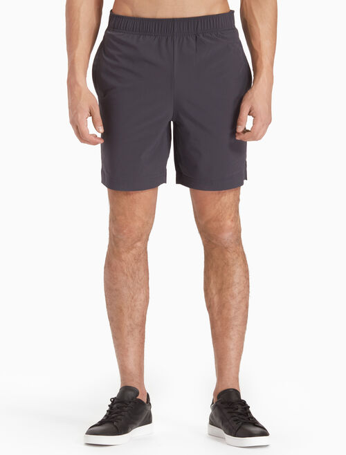 CALVIN KLEIN WOVEN SWEAT SHORTS WITH LOGO