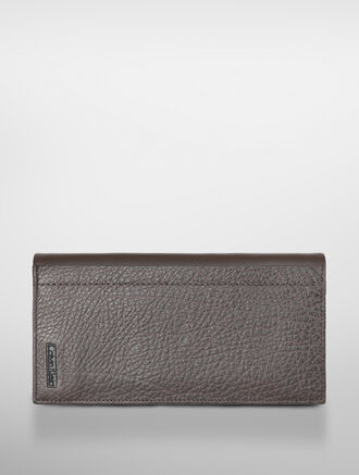 CALVIN KLEIN EXPOSED METAL LONG WALLET