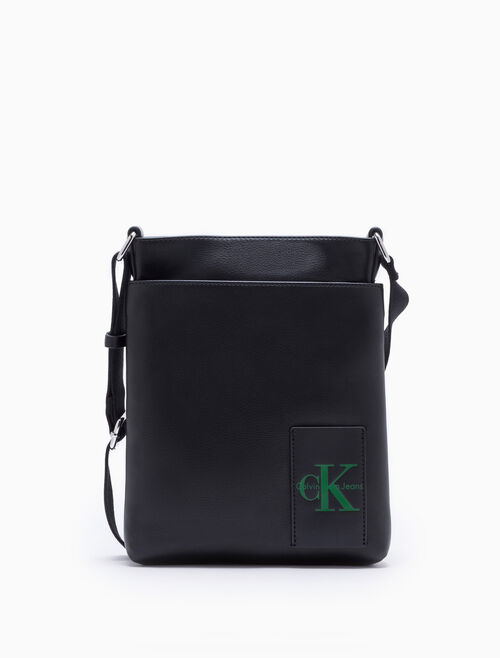 CALVIN KLEIN COATED CANVAS FLAT PACK