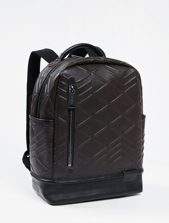 CALVIN KLEIN CITY GRID FOAM CAMPUS BACKPACK