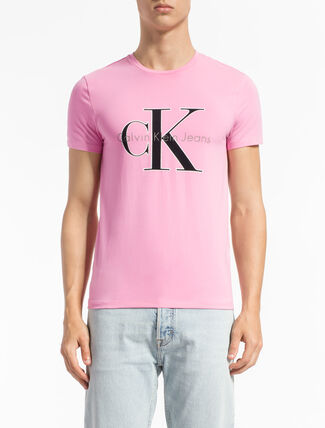 CALVIN KLEIN MONOGRAM LOGO 슬림핏 티셔츠