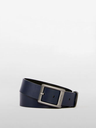 CALVIN KLEIN PLAIN PINK BUCKLE BELT