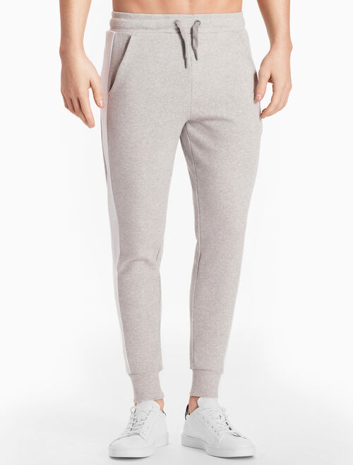 CALVIN KLEIN SIDE STRIPE SWEAT PANTS