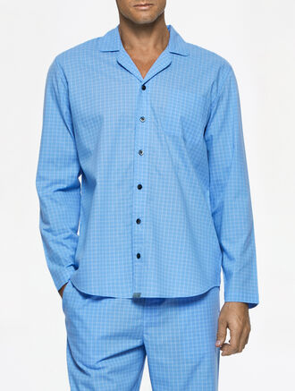 CALVIN KLEIN SLEEPWEAR LONG SLEEVES PAJAMA TOP