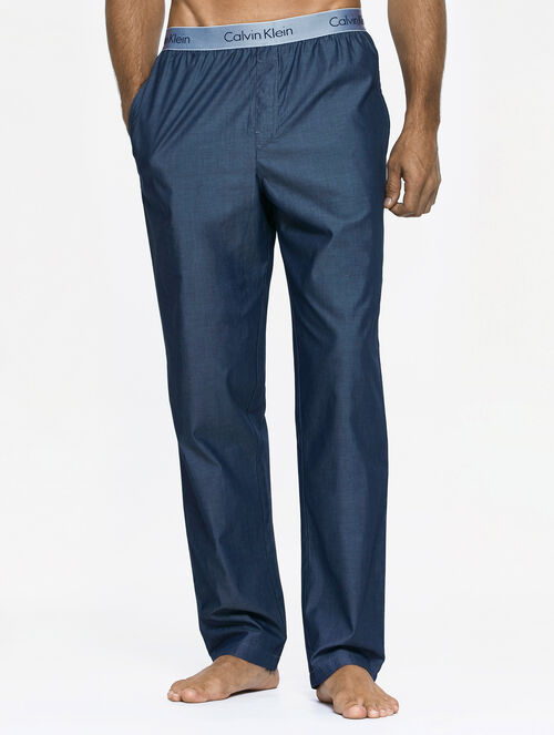 CALVIN KLEIN LIQUID COTTON SATEEN SLEEP PANTS