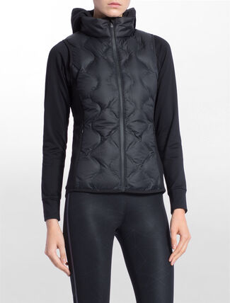 CALVIN KLEIN 2-IN-1 DOWN JACKET WITH HOOD