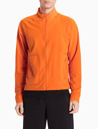 CALVIN KLEIN PREMIUM BONDED SLIM-FIT WIND JACKET