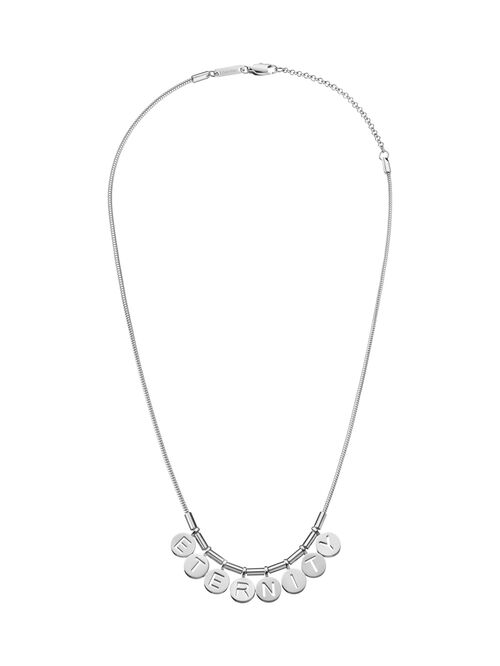 CALVIN KLEIN NOTE SHORT NECKLACE