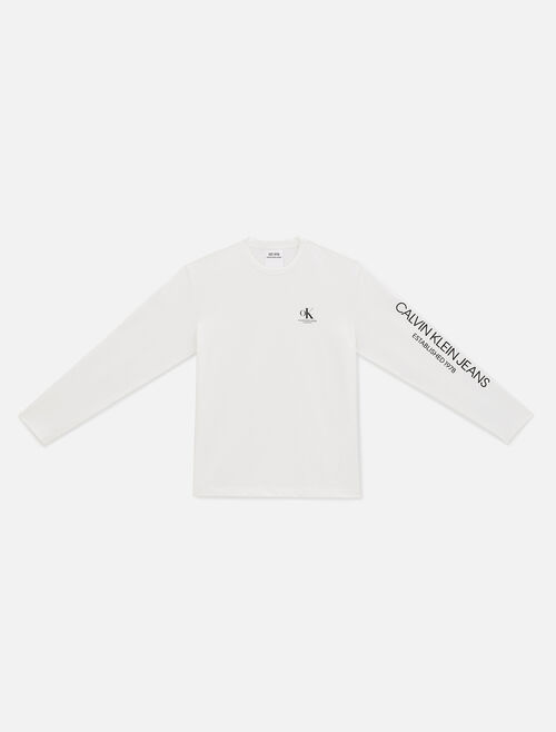CALVIN KLEIN EST 1978 LONG SLEEVE SHIRT