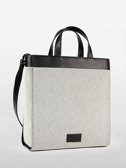 CALVIN KLEIN ENGINEERED CASUAL MEDIUM TOTE