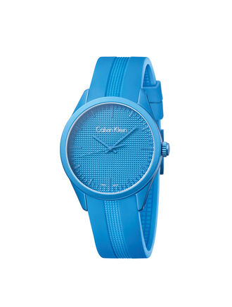 CALVIN KLEIN BLUE COLOR PERFORMANCE WATCH