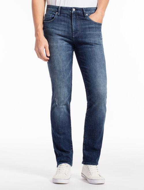 CALVIN KLEIN FLUID TEXTURE 微彈貼身牛仔褲