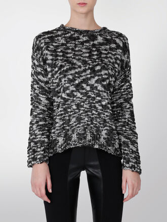 CALVIN KLEIN TWO-TONE SWEATER