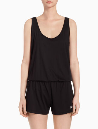 CALVIN KLEIN SCOOP BACK ROMPER