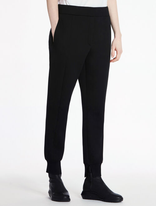 CALVIN KLEIN SCULPTED DOUBLE FACE JERSEY JOGGING PANTS