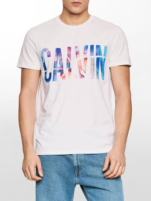 CALVIN KLEIN A-TAC CN TEE S/S