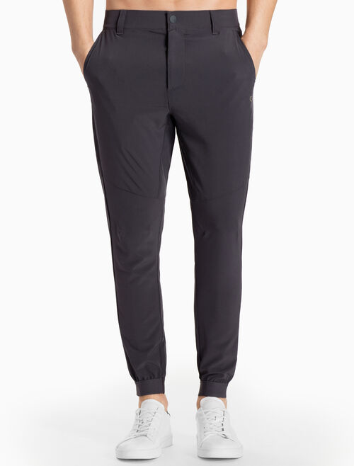 CALVIN KLEIN WOVEN SWEAT PANTS WITH BELT LOOPS