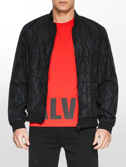 CALVIN KLEIN Ondo 2ロゴ ボンバージャケット