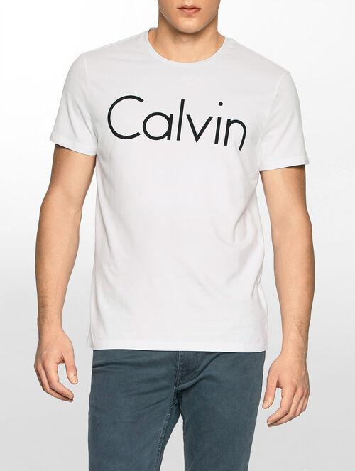 CALVIN KLEIN CALVIN CREW NECK SHORT SLEEVES T-SHIRT