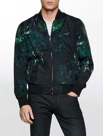 CALVIN KLEIN ACC HOOK UP REVERSIABLE JACKET