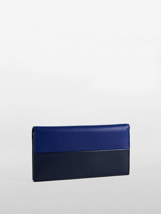 CALVIN KLEIN LONG FLAP WALLET TWO TONE