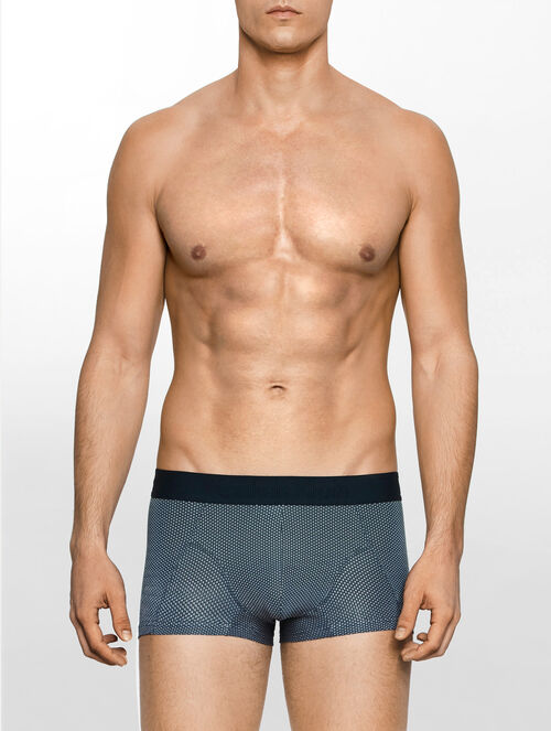 CALVIN KLEIN CK BLACK PRISM LOW RISE TRUNK