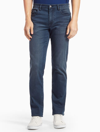 CALVIN KLEIN ASH BLUE STRAIGHT BODY JEANS
