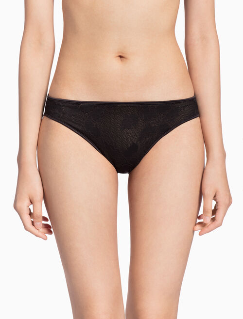 CALVIN KLEIN CK BLACK LILY LACE 比基尼