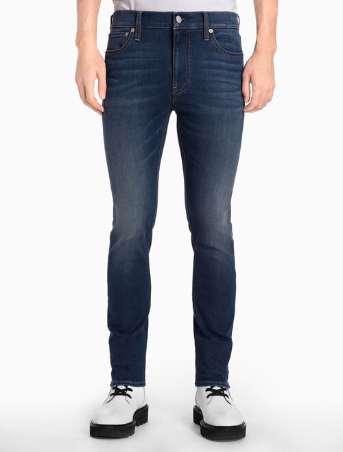 CALVIN KLEIN TARWIN BLUE 貼身牛仔褲
