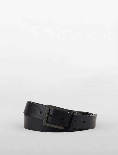 CALVIN KLEIN CROSS HATCH BELT