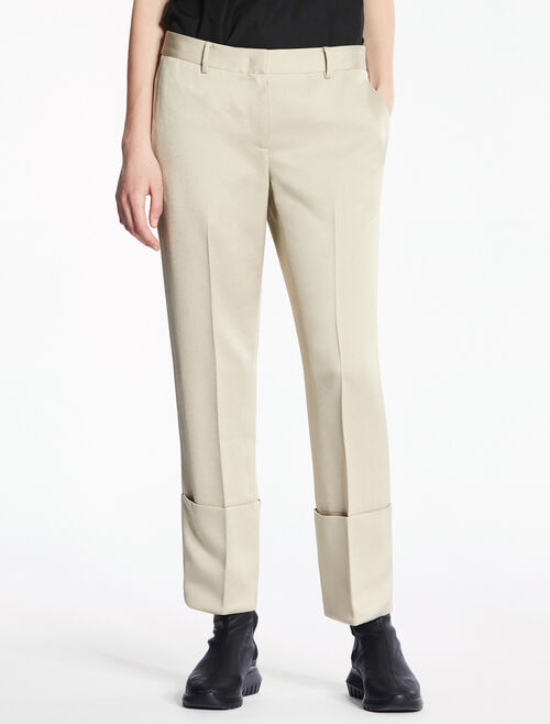 CALVIN KLEIN TRIACETATE POLY PANTS