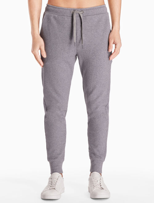 CALVIN KLEIN LOGO SWEAT PANTS WITH DRAWSTRING